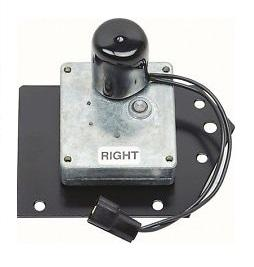 HEADLIGHT DOOR MOTOR, RIGHT, REPRO, WITH MOUNTING PLATE
