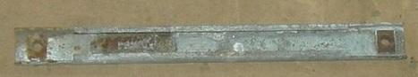 QUARTER GLASS HORIZONTAL CHANNEL ,CONVERTIBLE, USED, 64-65 A-BODY