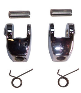 LATCH HANDLE KNUCKLES PAIR, CONV'T W/SPRINGS & PINS ,NEW 64-76