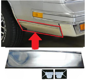 FENDER MOLDING ,FRONT, RIGHT NEW, 81-88 CUTLASS