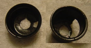 RADIO MOUNTING CUPS ,USED PAIR, 68-76 NOVA ,X