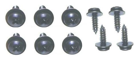 GLOVE BOX  MOUNTING SCREW KIT, 10 PCS, NEW