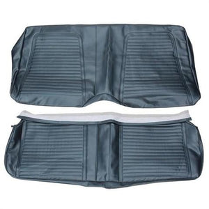 REAR SEAT COVER, CONVERTIBLE, STANDARD INTERIOR, BLACK,.REPRO