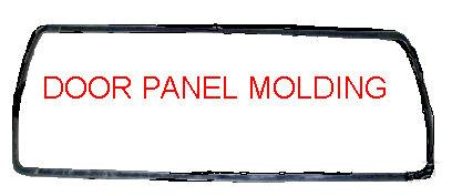 DOOR PANEL MOLDING, ROUND, 68 SK GS, FITS LH OR RH, USED, PER SIDE