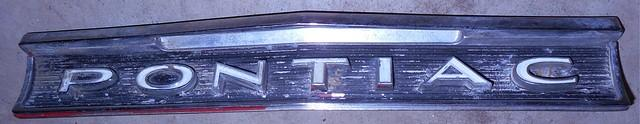 GAS OR FUEL DOOR MOLDING OR TRIM, USED, 63 Tempest