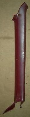 CONVERT WINDSHIELD PILLAR INSIDE COVER ,RIGHT,USED 71-75 B-BODY