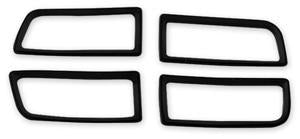 TAIL LIGHT HOUSING GASKET SET, NEW, 64 CHEVELLE