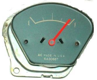 GAS GAUGE ,USED 65-67 GTO LEMANS