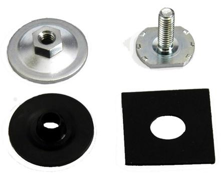 DOOR GLASS TO LOWER SASH MOUNTING BOLT KIT, EACH, NEW