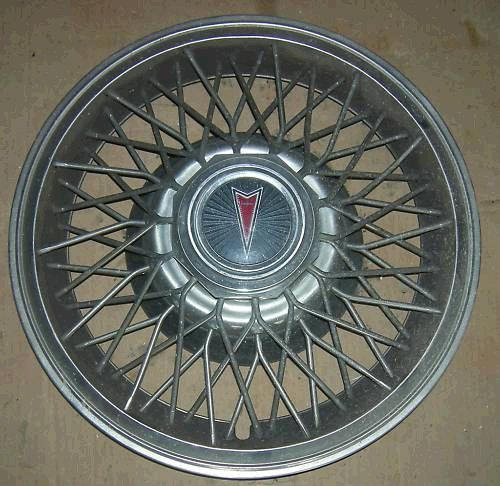 "WHEEL COVER, SPOKES, 14"", 82-7 GP FB BO, USED, EACH"