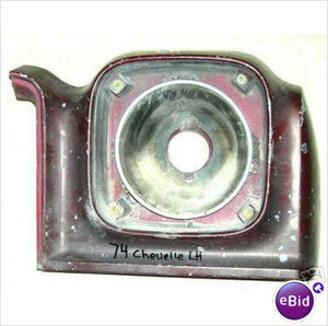 HEADLIGHT HOUSING, RH, 74 CH EL MA ,FENDER EXTENSION, USED