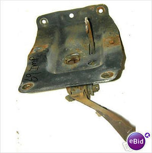 HOOD LATCH, 69 IM CP BA, USED, MOUNTS ON RADIATOR SUPPORT