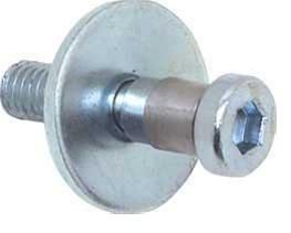 DOOR LOCK STRIKER BOLT, NEW, 64-81