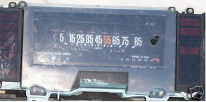 GAUGE CLUSTER ,W/DIGITAL TACH, USED 84-87 GN REGAL, 83-5 RIVIERA