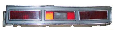 TAIL LIGHT ASSEMBLY, RIGHT, USED, 74-75 BELAIR