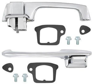 OUTSIDE DOOR HANDLE KIT, PAIR, NEW