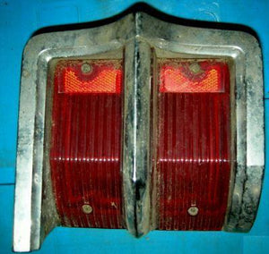 TAIL LIGHT ASSEMBLY, LH, 63 OLDS 88, USED