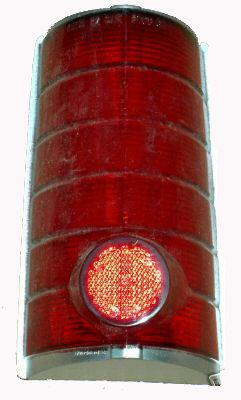TAIL LIGHT LENS ,RIGHT USED 64 TEMPEST