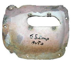 FLOOR SHIFTER TUNNEL HUMP ,AUTO, USED 65-67 IMPALA SS