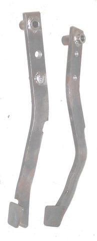 CLUTCH & BRAKE PEDALS, NEW PAIR 78-88 A G BODY