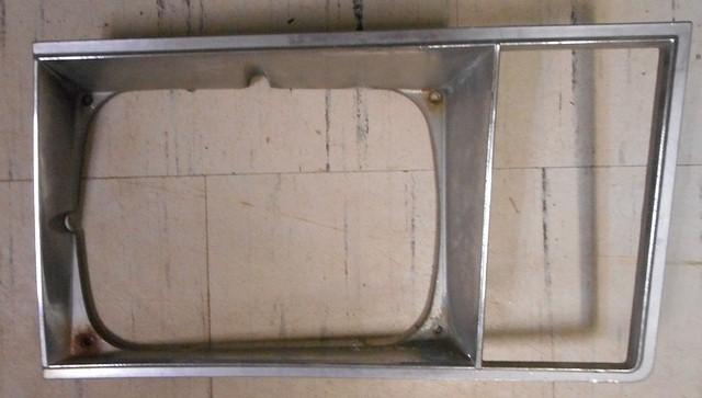 1981 chevy van headlight bezel