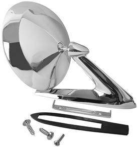 DOOR MIRROR ,NON REMOTE, NEW 63-66 PONTIAC