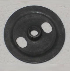 DOOR OR QUARTER GLASS ROLLER NUT, ROUND, EACH