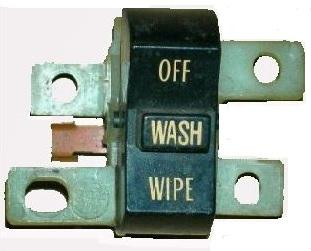 WIPER SWITCH, USED 69 GTO GRAND PRIX, CATALINA BONNEVILLE