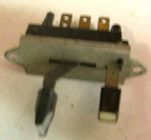WIPER SWITCH, 72-3 TORO 88 98, WITH DELAY, USED