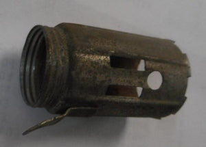 CIGAR LIGHTER RETAINER HAS SLOT FOR LAMP, USED