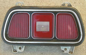 TAIL LIGHT ASSEMBLY, USED, 71-3 MG, USED