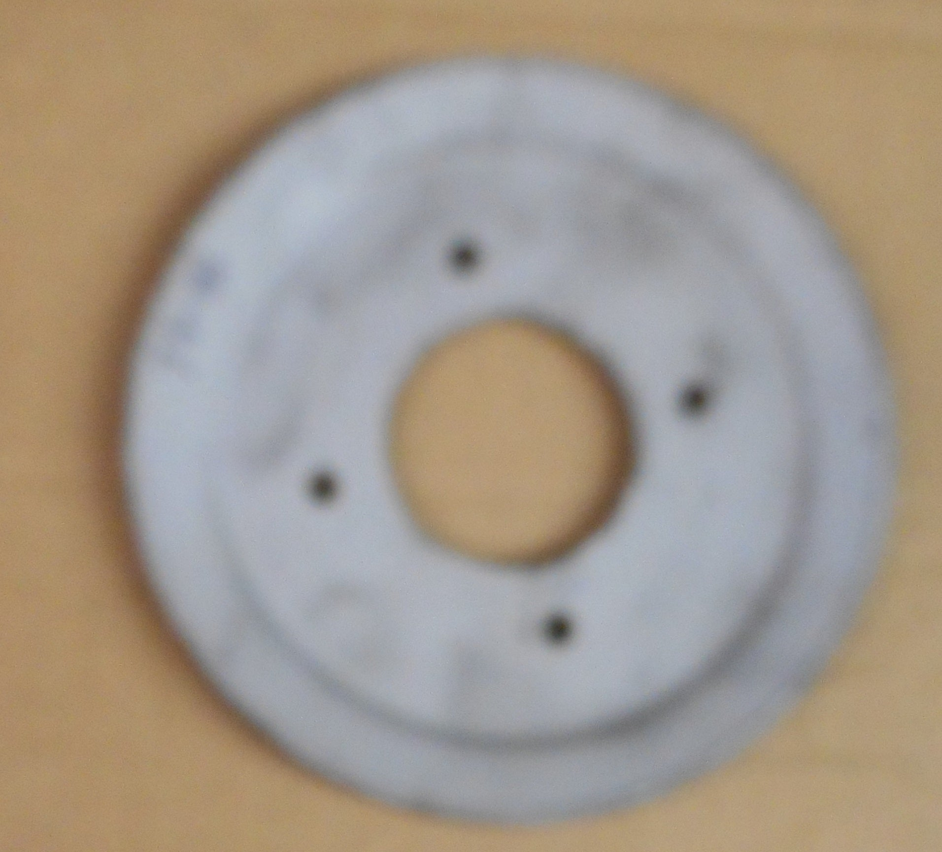 CRANK PULLEY, V8, 1 GROOVE , WITH AC USED, 71-81 PONTIAC MOTORS