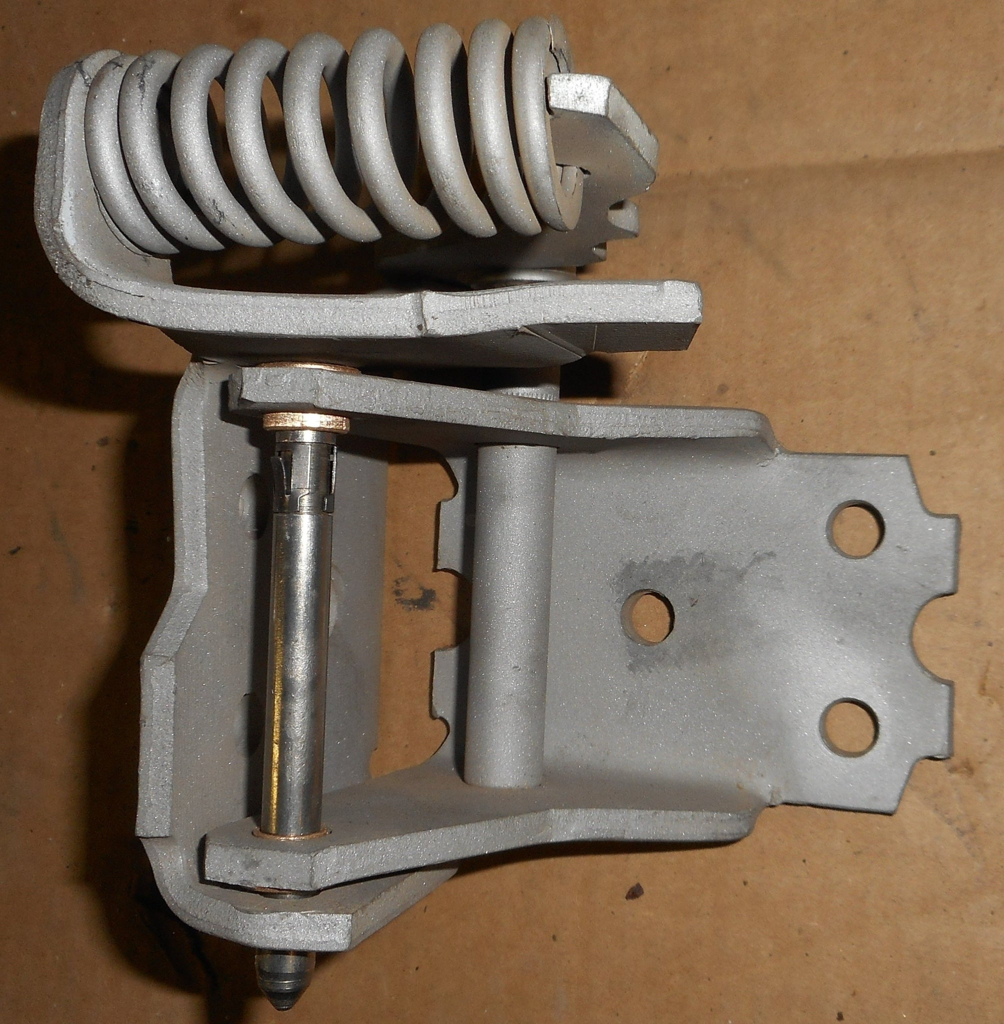 DOOR HINGE, UPPER, LEFT, REBUILT, 73-77 A-BODY
