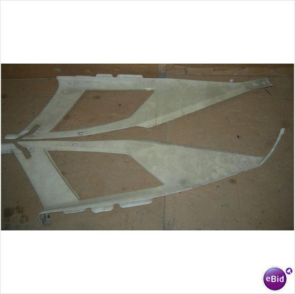 INSIDE SAIL PANELS, WHITE, PAIR, 73 GTO, USED