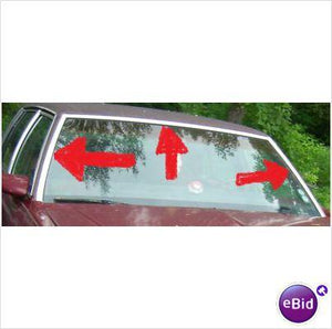 WINDSHIELD MOLDING SET,  80-5 IMPALA, 4 DOOR,  USED