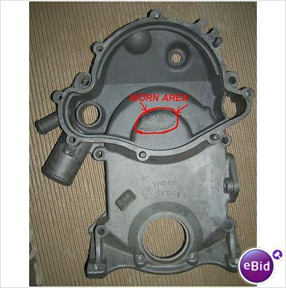 TIMING CHAIN HOUSING, 66-7 GTO GRAND PRIX BONNEVILLE