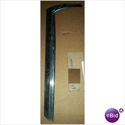 WINDSHIELD SIDE MOLDING, 63-4 IMPALA, CONVERTIBLE
