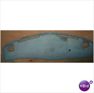 DASH PAD, BLUE, 76 DELTA 88 98, CRACKED, USED