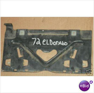 LICENSE PLATE GAS DOOR, 71-2 ELDORADO, USED