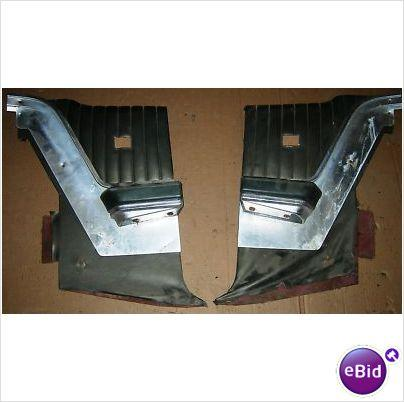 QUARTER PANEL INSIDE TRIM, GREEN, 68 THUNDERBIRD, PAIR