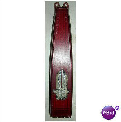 TAIL LIGHT LENS, 79 CADILLAC DEVILLE FLEETWOOD