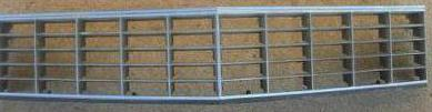 FRONT GRILLE, UPPER, USED, 77 DEVILLE FLEETWOOD