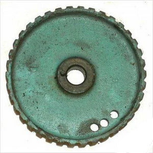TIMING BELT SPROCKET, ON CAM, USED, 66-68 FIREBIRD TEMPEST