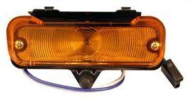 PARK LIGHT ASSEMBLY, RIGHT, NEW, 66 CHEVELLE
