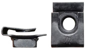 BUMPER BRACKET CLIP NUT, ON FRAME, NEW 64-67 CHEVY