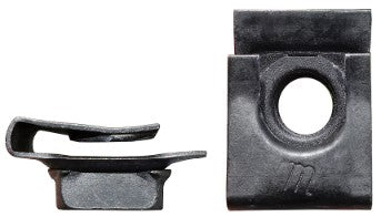 BUMPER BRACKET CLIP NUT ,ON FRAME, NEW 64-67 CHEVY