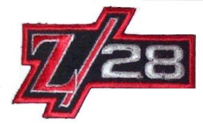 JACKET PATCH (Z28) SEWN ON, 67-81 CAMARO STYLE, NEW
