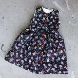 Girls Halloween print dress