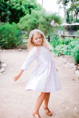 Girls Tie Dye Cotton Dress
