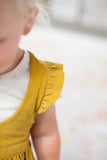 Girls Mustard Yellow Pinafore/ Jumper